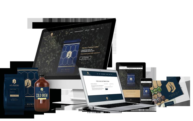 startup branding marketing websites